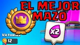 EL MEJOR MAZO PARA EL TORNEO DE DOBLE ELIXIR! 12 VICTORIAS MUY FÁCIL! | Clash Royale en Español