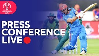 Post Match Press Conference South Africa VS Afghanistan   ICC Cricket World Cup 2019