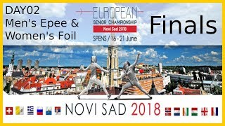 European Championships 2018 Novi Sad Day02 - Finals