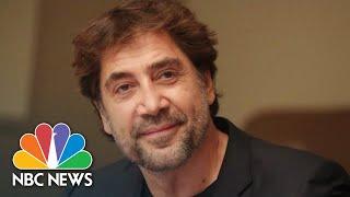 Actor Javier Bardem Speaks Out For Ocean Treaty   NBC News