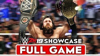 WWE 2K19 2K Showcase Gameplay Walkthrough Part 1 FULL GAME [1080p HD 60FPS Xbox One] - No Commentary