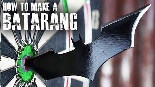 How to make a Batarang like ″The Dark Knight″