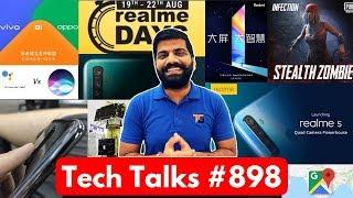 Tech Talks #898 - Redmi Note 8 Pro Launch, Realme Days, PUBG Infection, Chandrayaan 2, MIUI 11