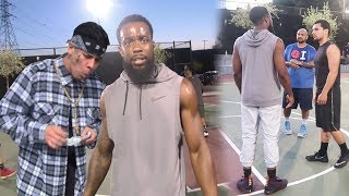 2HYPE PULLING UP ON THE WRONG SIDE OF CALIFORNIA TO HOOP! DID WE GET EXPOSED?!