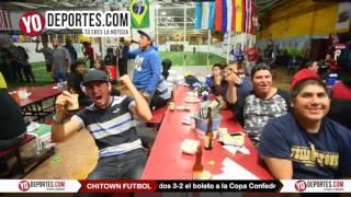 Chitown vibra con el triunfo de Mexico vs Estados Unidos en Pasadena California