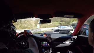 EXTREME Nordschleife battle GT2 RS VS Huracan Performante