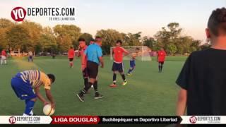 Suchitepéquez vs. Deportivo Libertad Liga Douglas