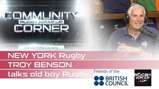 Saving Old Boys Rugby: New York Rugby Club's Troy Benson on Rugby Palooza