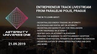 æternity Universe One Conference LIVE - Entrepreneur Track Day 2