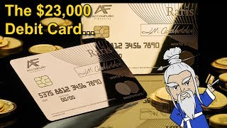 The $23,000 Solid Gold Debit Card (UK Royal Mint)