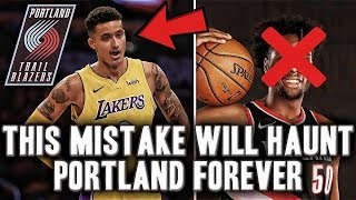 The Mistake That Will Haunt The Portland Trail Blazers Forever | Kyle Kuzma Taken One Pick After