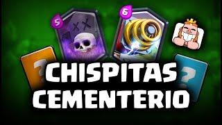 ¡CHISPITAS + CEMENTERIO HACE COUNTER AL META! ZAP BAIT | Malcaide Clash Royale