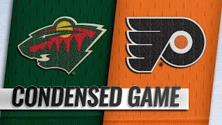 01/14/19 Condensed Game: Wild @ Flyers