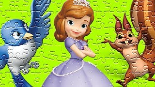 Disney Princess Sofia the First Puzzle For Cute Kids