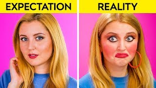EXPECTATION VS REALITY    Funny Relatable Situations by 123 GO!