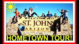 HOMETOWN TOUR!   ST. JOHNS ARIZONA   BIKE TOUR!
