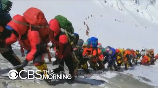 Climber describes scene in Everest's ″death zone″ : Traffic jams and corpses