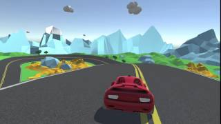 Unity Low Poly Racing Game Demo