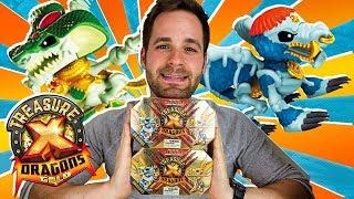 Treasure X Dragons Series 2 UNBOXING 2 CAJAS DRAGONES SORPRESA | Mega UNBOXING Treasure X en Pe Toys
