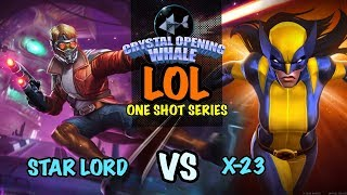 LOL One Shot Series Star Lord Vs X-23-Marvel Contest of Champions