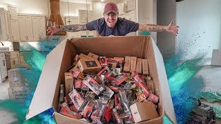 Worlds Largest Mystery Tackle Unboxing