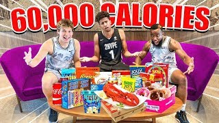 2HYPE Eats 60,000 Calories in 24 HOURS Challenge