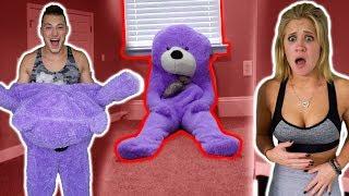 TEDDY BEAR COMES TO LIFE *PRANK* (SCARE PRANKS)