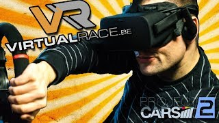 PROJECT CARS 2 IN VR RACING SIMULATORS! | Rowdy Vlog