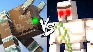Ravager vs. Iron Golem - Minecraft