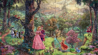 Sleeping Beauty Puzzle Games For Kids