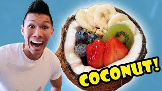 COOKING with COCONUTS for BREAKFAST LUNCH + DINNER || Life After College: Ep. 560