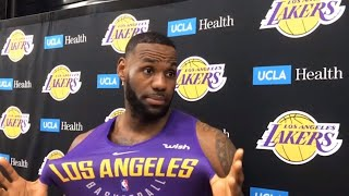 LeBron James Responds to Kuzma's Claim That Something Is Wrong With the Lakers