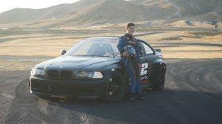 INSANE 14 YEAR OLD DRIFTER! *Drifts Rocket Bunny BMW e46 like a PRO*