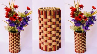 DIY Easy Paper Flower Vase | How To Make a Flower Vase at Home | Home Decor | #38 |
