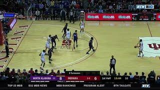 First Half Highlights: North Alabama at Indiana | B1G Basketball