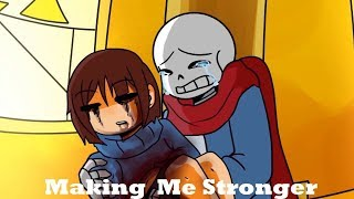 Making me stronger 【 Undertale Animation - Feat.Ichika 】