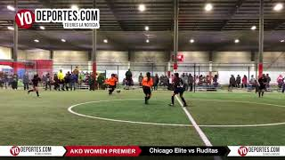 Chicago Elite vs Ruditas AKD Women Premier Soccer League