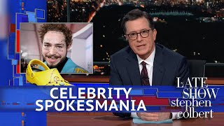 Late Show's Celebrity Spokesmania: Post Malone's Crocs