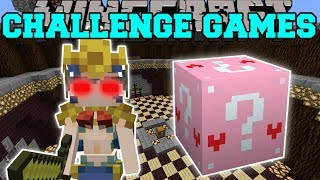 Minecraft: MERMAID CHALLENGE GAMES - Lucky Block Mod - Modded Mini-Game