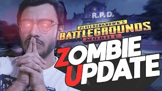 PUBG MOBILE LIVE: NEW ZOMBIES UPDATE IS HERE | NEW UPDATE | RESIDENT EVIL 2