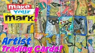 How to: Artist Trading Cards DIY, Swap & Contest