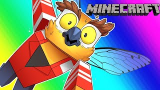 Minecraft Funny Moments - The Terrible Quest for Flight! (Elytra)