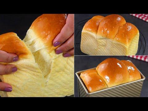 Cotton Soft Milk Bread / Milk Loaf Recipe by Tiffin Box | Japanese Milk bread | Hauswirt Stand Mixer