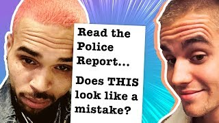 Justin Bieber Posts Controversial Chris Brown Photo, Police Report Has Fans Sick