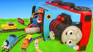 Thomas Train Crash: Toy Vehicles, Tractor, Trucks & Cars | Train Toys for Kids