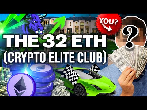 Last Chance to Buy 32 ETH! Will You Join Crypto's Elite?? Race to Accumulate Is ON!!