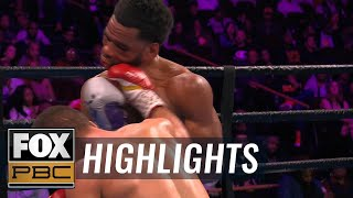 Lamont Peterson retires in the ring after loss to Sergey Lipinets | HIGHLIGHTS | PBC ON FOX