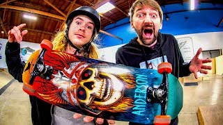 THE MOST CREATIVE SKATER IN THE WORLD?!