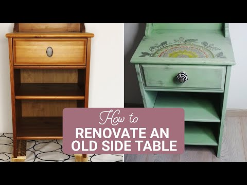 Gobble | How To Renovate Your Side Table | Table Makeover | Hacks To Renovate Furniture