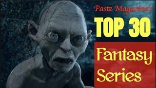 PASTE'S TOP 30 FANTASY SERIES